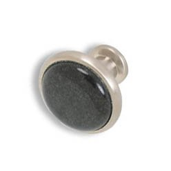 Designer knobs-Brushed Nickel-Absolute Black