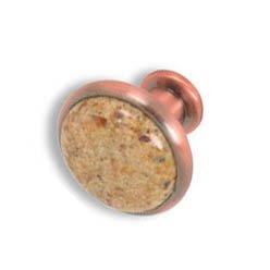 Cabinet konbs-brushed Antique copper- Kashmire Gold