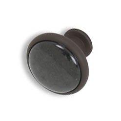 Cabinet knobs-Rustic Bronze-  Black