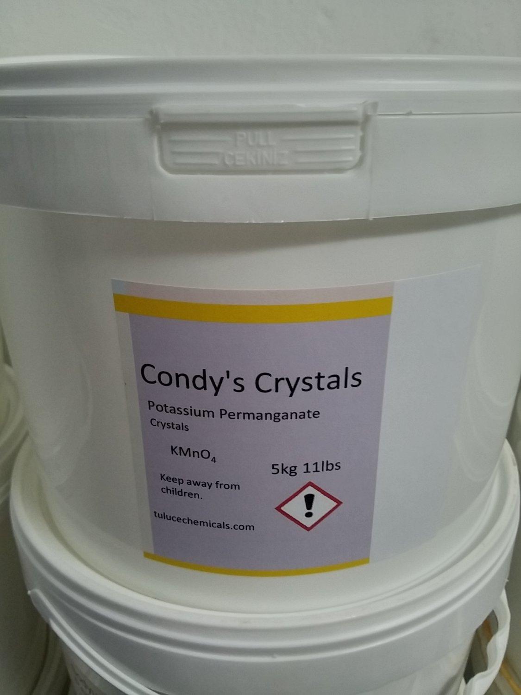 5kg POTASSIUM PERMANGANATE ACS GRADE Disinfectant Fungicide Koi Fish ponds 11lbs