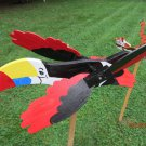 Handmade Handpainted Wooden Tropical Toucan Whirligig