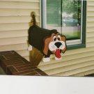 Handmade custom painted, functional,beagle mailbox