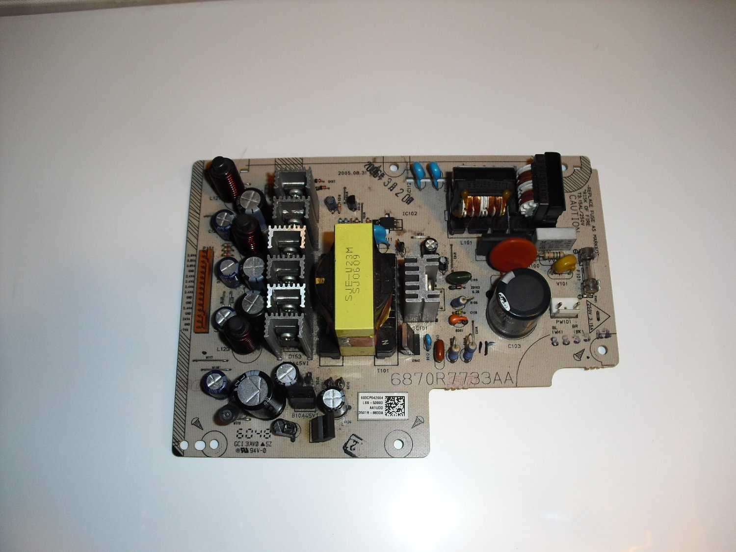 6870r7733aa  power  board  for  direct  tv  hr20