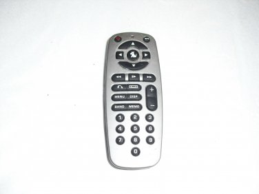 sirius  satellite  remote  control