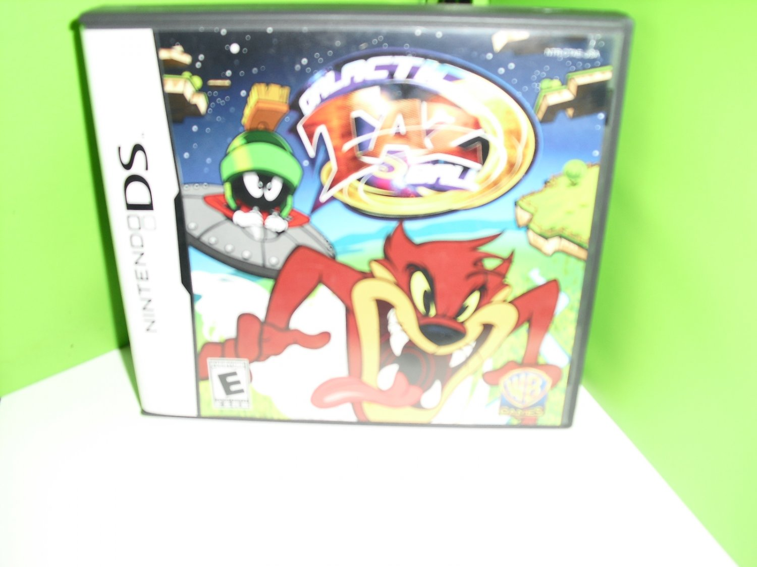 nintendo  ds  galactic  taz  ball  game
