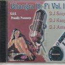 bhangra hi fi  vol 1 .remix  by  dj sony ,dj kang .dj aman   [Cd]