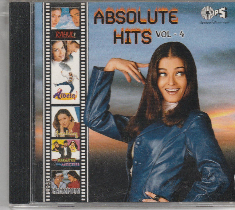 Absolute HIts Vol 4[Cd]Albela,Champion,Rahul,Kuch Khatti Kuch Mitthi USA Made Cd