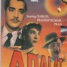 Adalat - Pradeep Kumar, nargis , Pran    [Dvd] 1 st Edition  Released