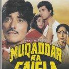 Muqaddar ka Faisla - raj Kumar , Raj babbar  [Dvd] 1st edition