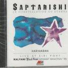 saptarishi - hariharan   [Cd] Live At Siri Fort - Canada Made Cd