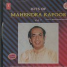 Hits Of mahendra kapoor Vol 1  [Cd]  1st Edition 1988 released