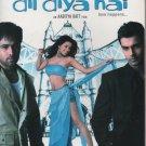 Dil Diya hai - Emran hashmi , Ashmit Patel  [Dvd] 1st edition rainbow released