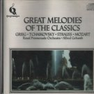 Great Melodies Of The Classics  [Cd] Gried,Tchaikovsky,Strauss,Mozart
