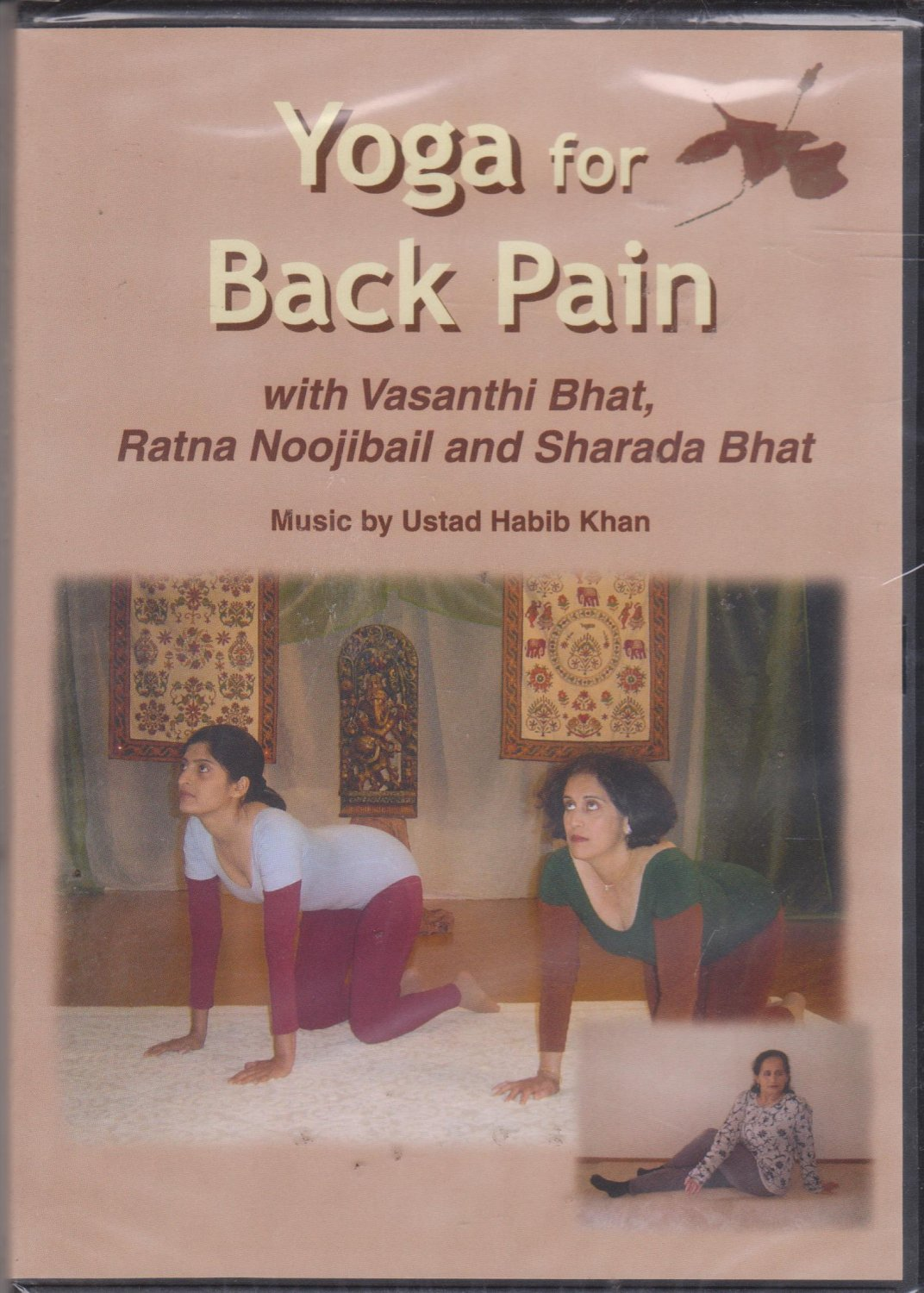 Yoga For back Pain  By vasanthi BHat  [Dvd ] Music:Habib Khan