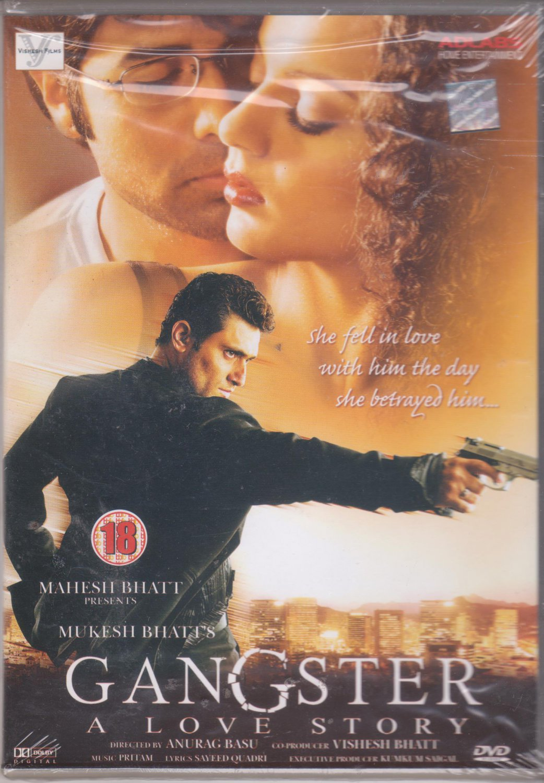 gangster - Emraan hashmi , Kangna  [Dvd]  1st edition Released