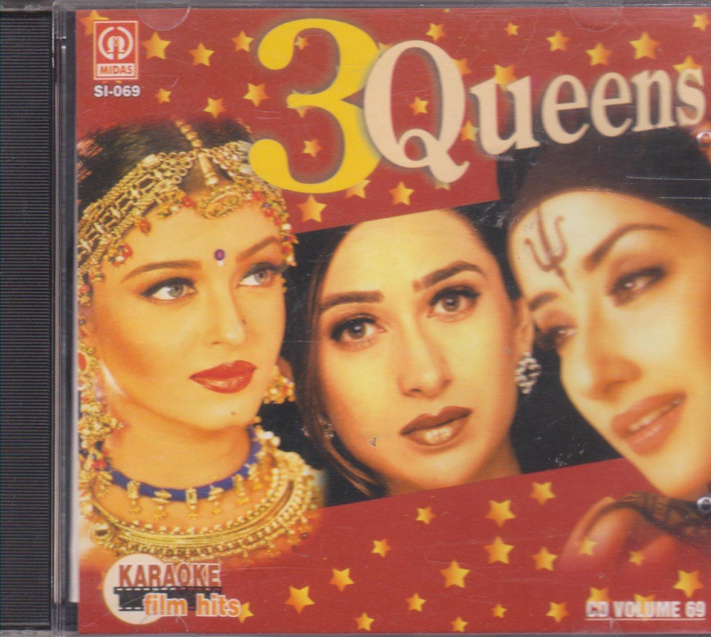 3 queens - Karaoke [Cd]songs of Raja Hindustani,Taal,Hum dil de chukesanam