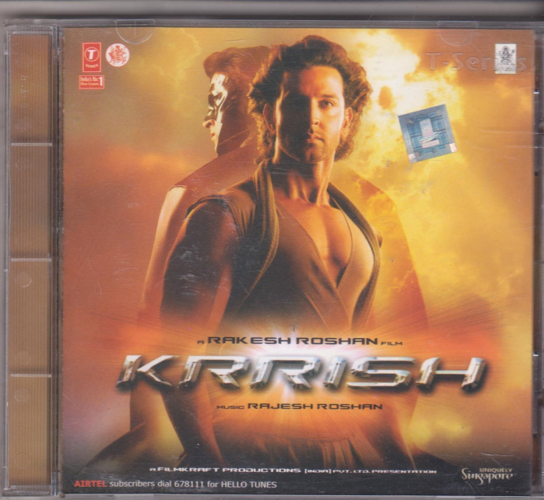 Krrish - Hrithik Roshan  [Cd] Soundtrack of Hindi Film