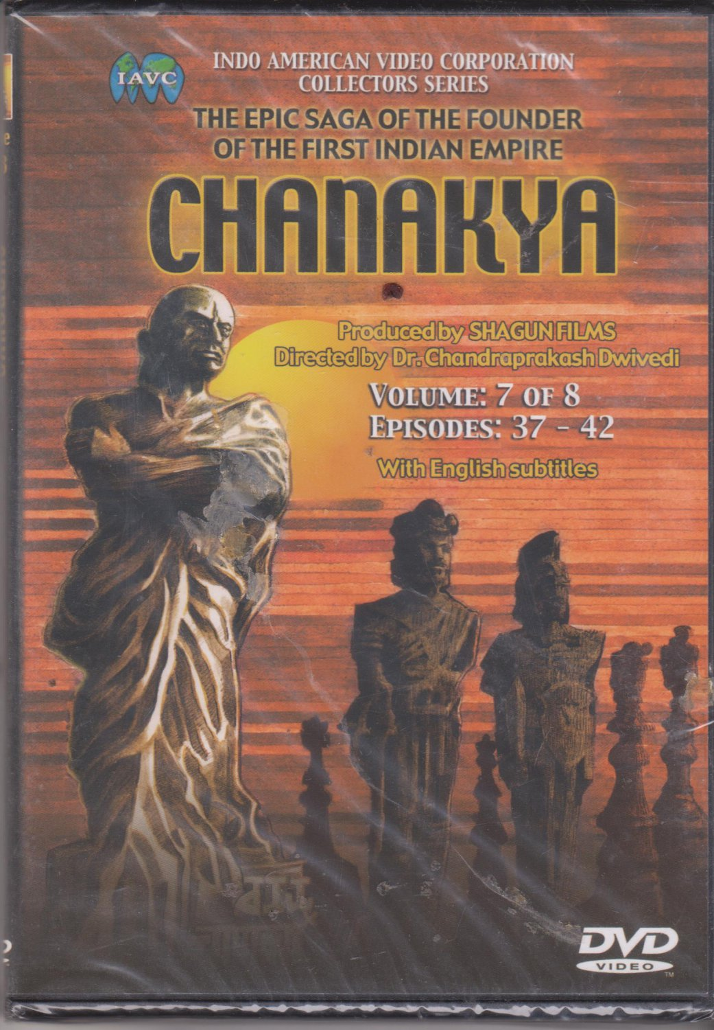 Chanakya Vol 7 - Episodes 37 to 42  [Dvd]  1st edition Released
