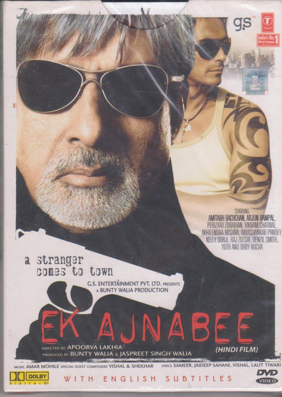 Ek Ajnabee - A stranger Comes to Town - Amitabh Bachchan, Arjun Rampal  [Dvd]