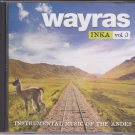 Wayras Inka vol 3  [Cd] Instrumental Music From the andes