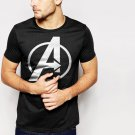 Avengers Inspired Men T-Shirt Logo Marvel