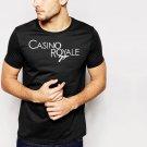 Casino Royal logo Men T-Shirt black 007 James Bond