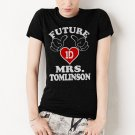 Future Mrs Tomlinson Women T-Shirt One Direction 1D