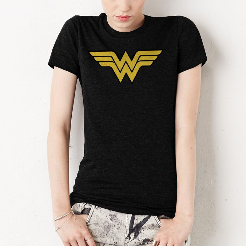 Wonder Woman Superhero Women T-Shirt