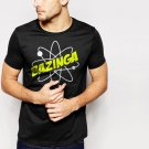 Bazinga Sheldon Men T-Shirt Geek Science Big Bang Theory