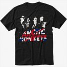 Arctic Monkeys Indie Rock Band Black T-Shirt Screen Printing