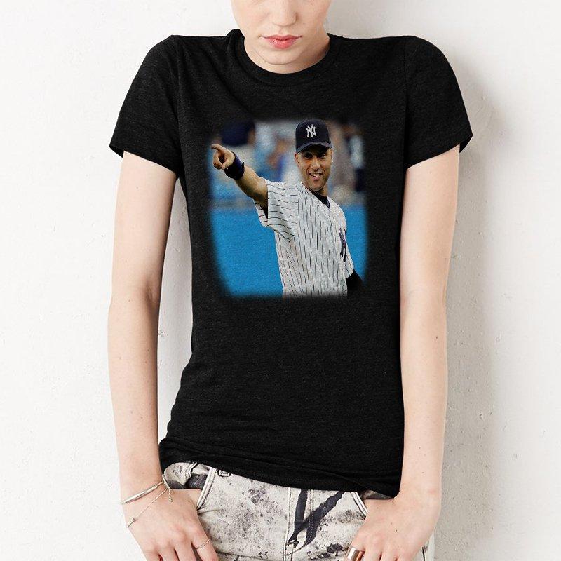 Derek Sanderson Jeter American former baseball Women T-Shirt