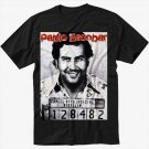 PABLO ESCOBAR Black T-Shirt Screen Printing