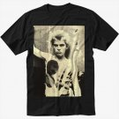 Billy Idol Black T-Shirt Screen Printing