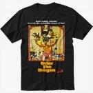 Enter The Dragon - Custom Bruce Lee Black T-Shirt Screen Printing