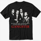 Goodfellas Gangster T-Shirt - De Niro, Pesci, Liotta Mob - All Sizes Black T-Shirt Screen Printing