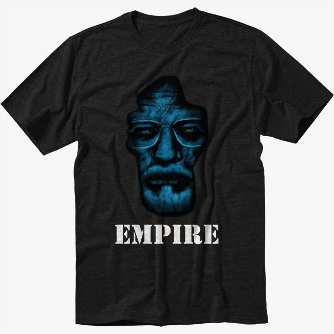 Heisenberg Empire Black T-Shirt Screen Printing
