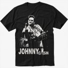 Johnny Cash Black T-Shirt Screen Printing