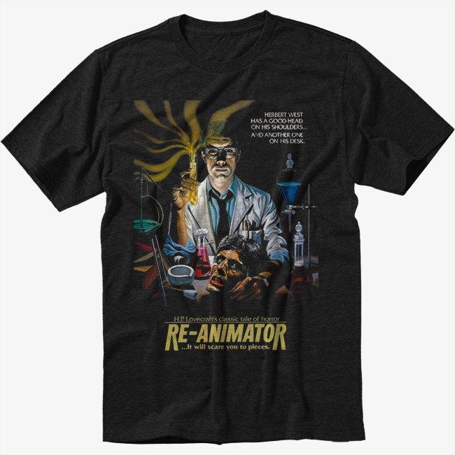 Re-Animator T-Shirt Screen Printing