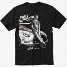 Paul Walker RIP Black T-Shirt Fast And Furious one last ride