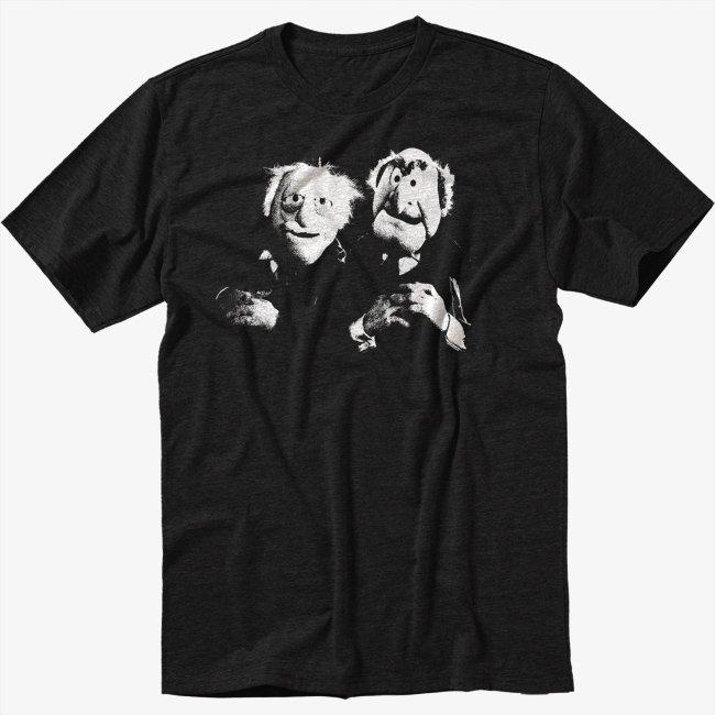 The Muppets Black T-Shirt Old Men S M L XL 2XL