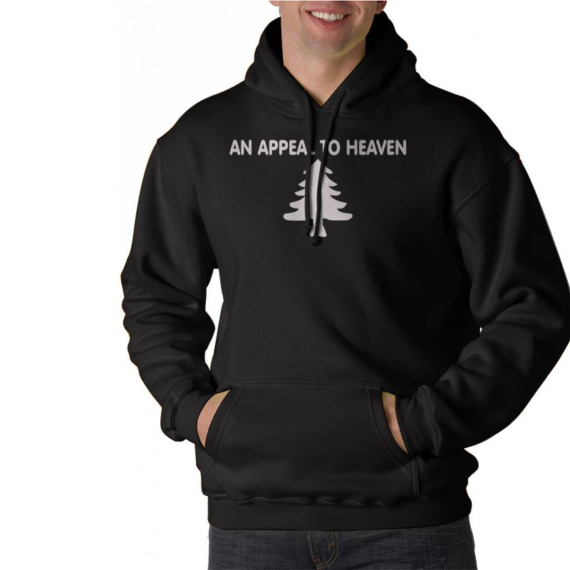 AN APPEAL TO HEAVEN Black Hoodie