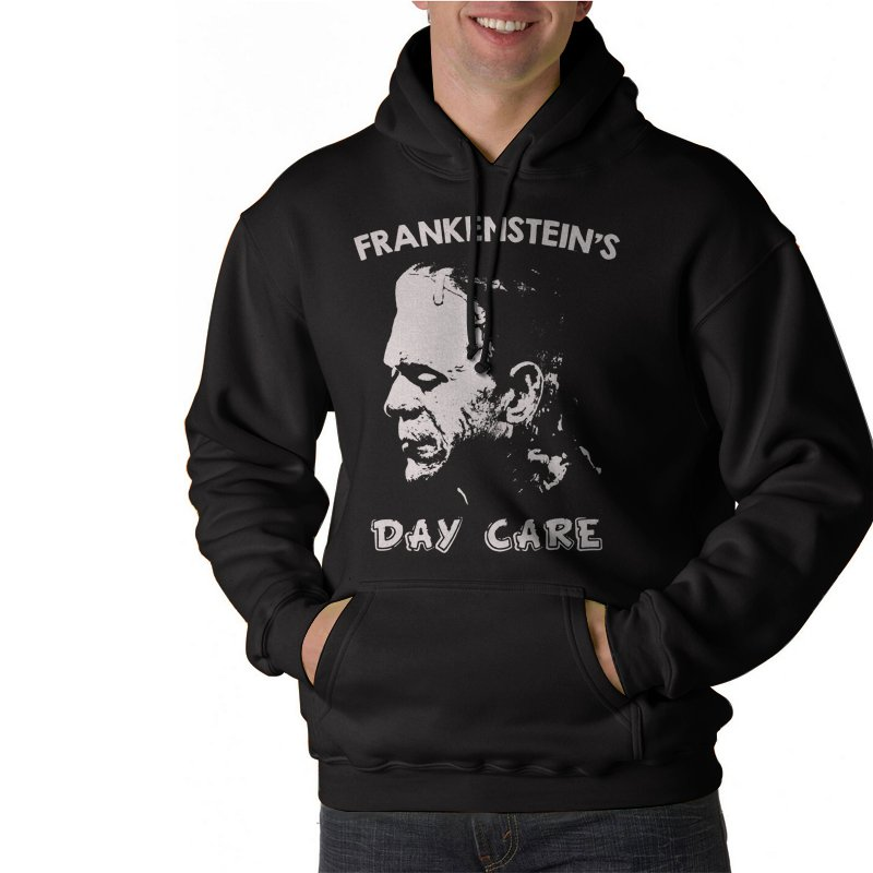 Frankenstein's Day Care Black Hoodie