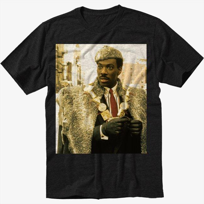 Coming To America Funny Movie Men Black T Shirt