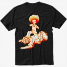 Huey Freeman The Boondocks Men Black T Shirt