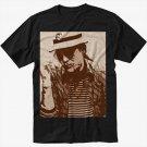 Hunter S. Thompson Men Black T Shirt