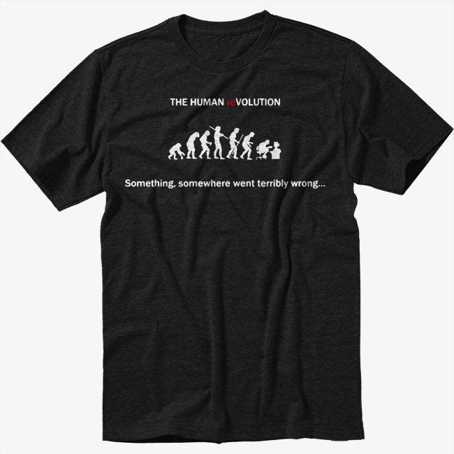 Something, Somewhere Went Terribly Wrong Men Black T Shirt