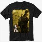 The Last Of Us Ellie Men Black T Shirt