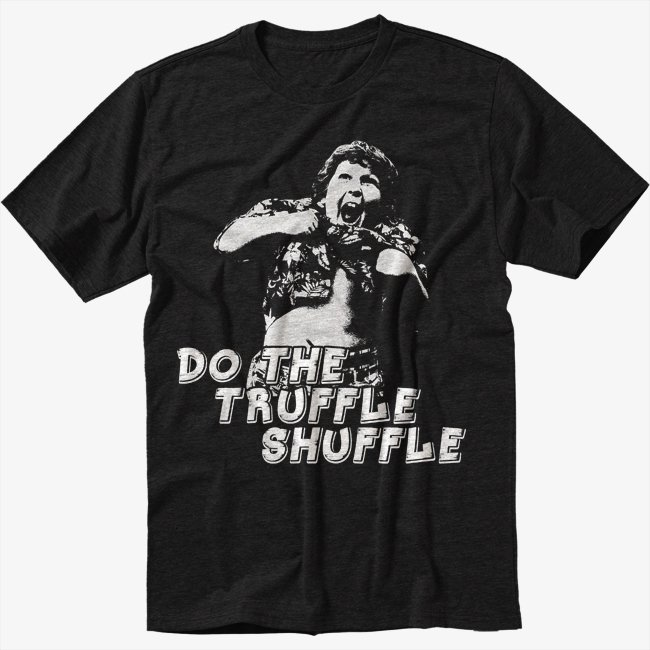 Truffle Shuffle chunk sloth goonies 80s movie Men Black T Shirt