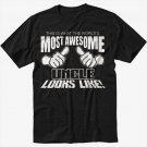 This Is What The World's Most Awesome Uncle Looks Like Men Black T-Shirt