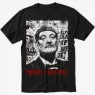Bill Murray Christmas Funny Black T-Shirt